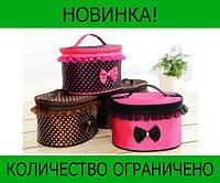 Тканевая косметичка Bow Storage Bag!Розница и Опт, фото 1