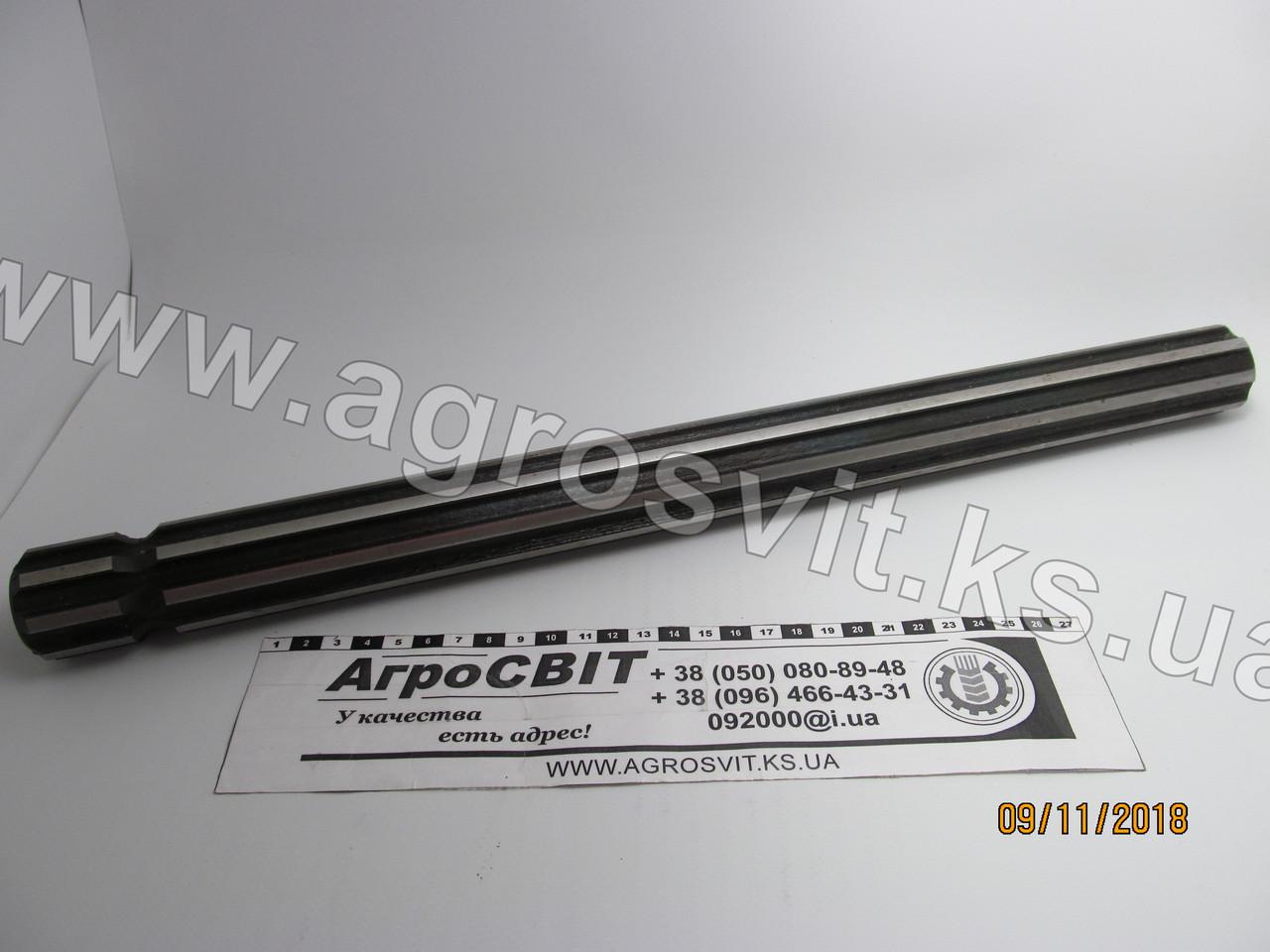Вал шлицевой (8 шлицов) 470 мм.