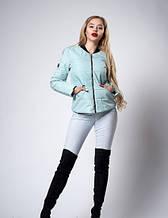Женская молодежная демисезонная куртка. Код модели К-116-36-18. л