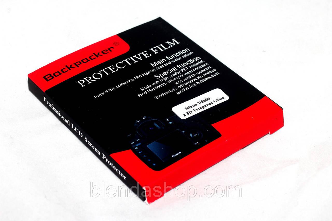 Захист LCD екрана Backpacker для Pentax K-1, K-1 Mark II - загартоване скло