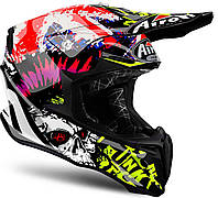"Шлем Airoh TWIST CRAZY black gloss ""XL"", арт. TWCR56"