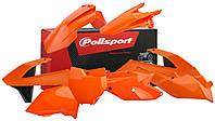 Комплект пластика Polisport MX для KTM SX/SX-F, оранжевый с графикой
