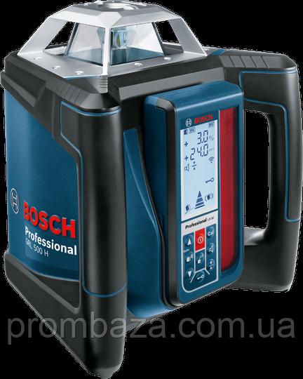 Ротационный лазер Bosch GRL 500 H + LR 50