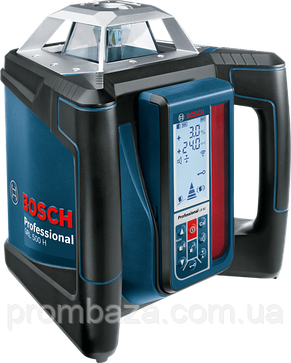 Ротационный лазер Bosch GRL 500 H + LR 50, фото 2