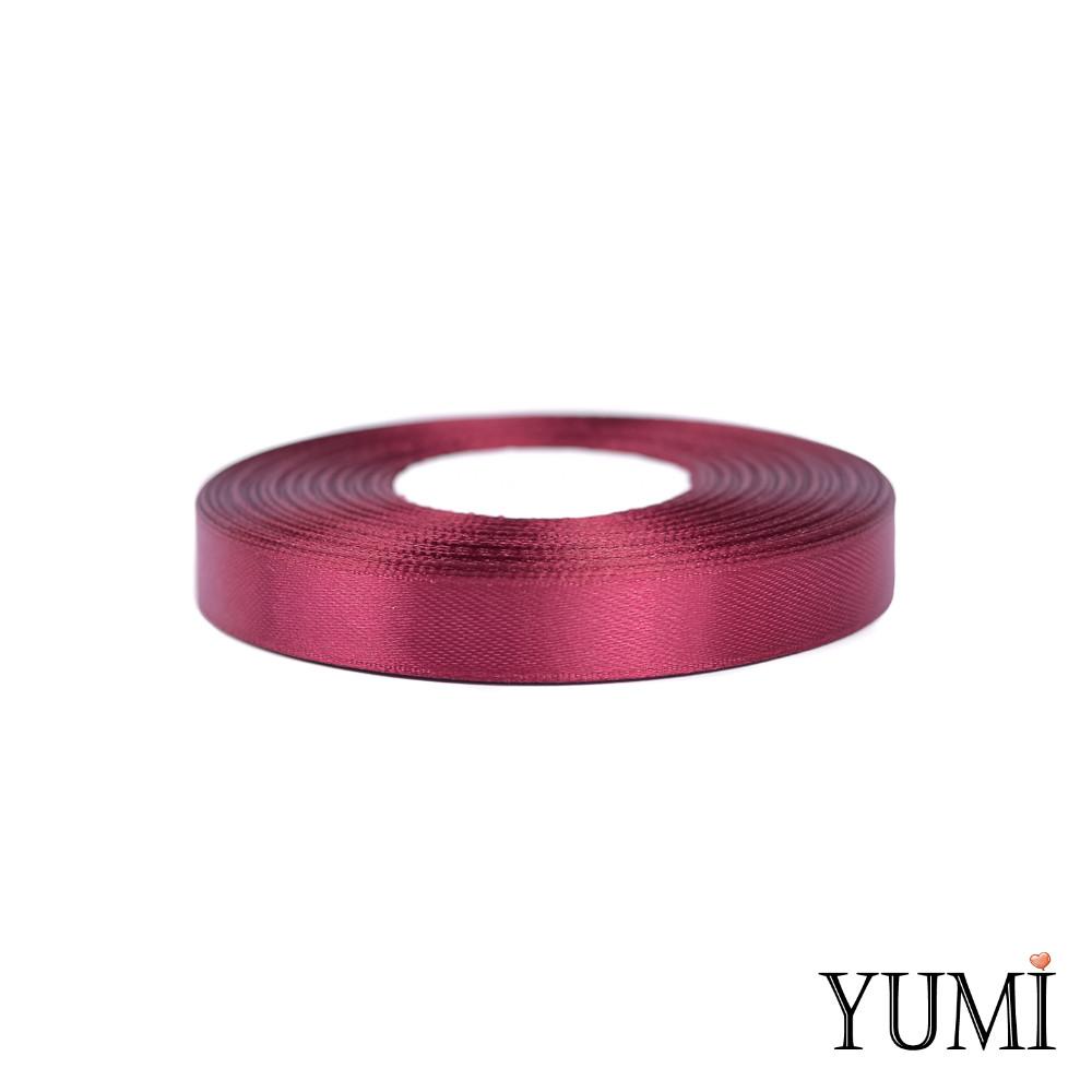 Лента (тесьма) атласная (сатин) 12 мм БОРДО 8060