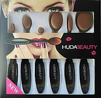 Набор кистей для корректирующих средств Huda Beauty (6 шт.) - дефект упаковки