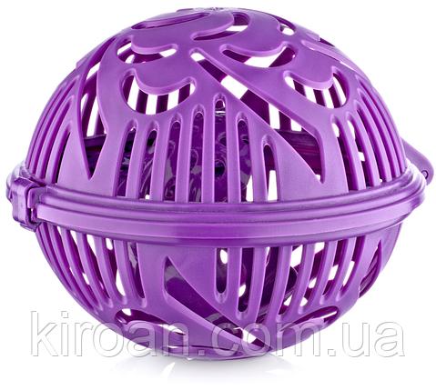 Контейнер для стирки нижнего белья  Irak Plastik LA-600 диаметр 17см (цвет уточняйте у менеджера), фото 2