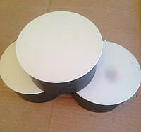 Распределительная коробка ф 100 мм в кирпич (бетон)