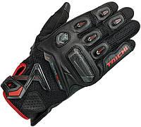 Мотоперчатки RS TAICHI Raptor Mesh кожа черный красный S