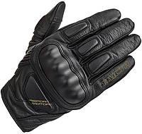 Мотоперчатки RS TAICHI Stealth Leather кожа черный XL