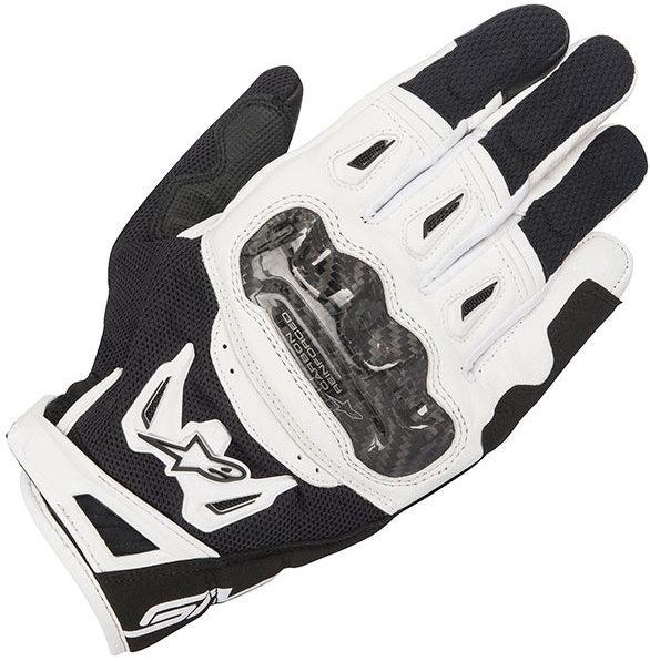 Мотоперчатки ALPINESTARS SMX-2 AC V2 черный белый L