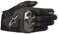 Мотоперчатки женские ALPINESTARS Stella SMX-1 Air V2 кожа/текстиль черный L