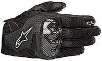 Мотоперчатки женские ALPINESTARS Stella SMX-1 Air V2 кожа/текстиль черный XS