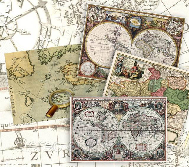 Фото старинные карты купить