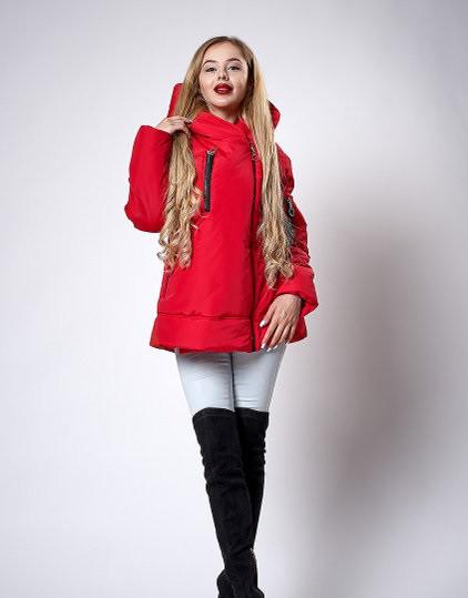 Женская молодежная демисезонная куртка. Код модели К-123-38-18 л