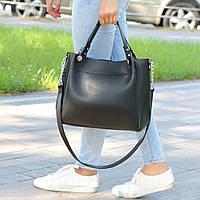 """Стильная женская повседневная сумка """"Аманда1 Black"""", фото 1"""