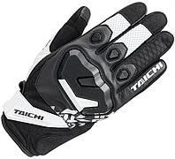 Мотоперчатки RS TAICHI Surge Mesh белый черный L