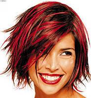Окрашивание волос с мытьем волос патентованными препаратами от 15 до 30 см