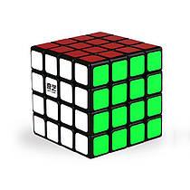 Кубик QiYi MoFangGe 4x4x4 QiYuan, чорний, в коробці