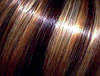 Мелирование волос на фольге с мытьем волос патентованными препаратами до 15 см