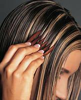 Мелирование волос на фольге с мытьем волос патентованными препаратами свыше 40 см