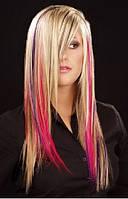 Колорирование волос на фольге с мытьем волос патентованными препаратами свыше 40 см