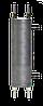 Охладитель отбора проб воды и пара двухточечный