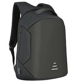 """Новейший городской рюкзак с защитой от краж, портом USB и водозащитой. Для ноутбука 15"""""""