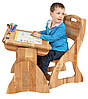 Комплект Парта + стул .(Ширина 60 см). Mobler