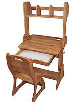 Комплект Парта, стул, надстройка(ширина 60см) ,   Mobler, фото 1