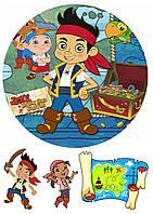 """Вафельная картинка """"Пираты"""" 6"""