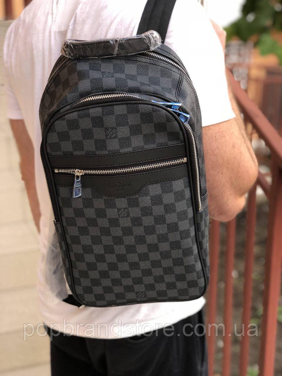 5d53a3ff19bf Крутой мужской рюкзак Louis Vuitton MICHAEL (реплика) - Pop Brand Store    брендовые
