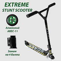 Трюковый самокат Scale Sports Extrem Abec-11 черный Гарантия качества Быстрая доставка