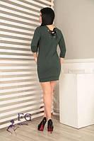 Короткое платье с вырезом на спине 023/01, фото 1