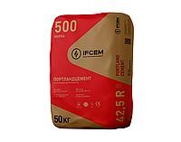 Цемент ПЦ |-500 Р-H, 50кг (Ивано-Франковск), заводская упаковка