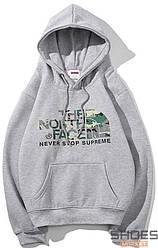 Худи The North Face Grey (ориг.бирка)