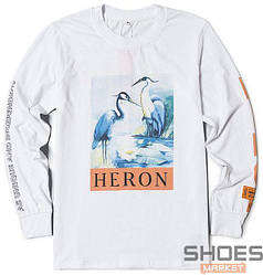 Свитшот Heron Preston White (ориг.бирка)