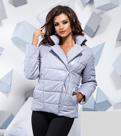 Демисезонная куртка-косуха на синтепоне 816698