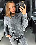 Женский вязаный костюм (3 цвета), фото 7