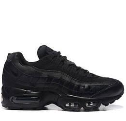 Мужские кроссовки Nike Air Max 95 Black Черные