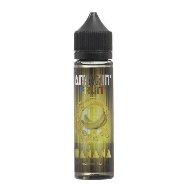 Жидкость для электронных сигарет Amazin' Fruit Banana 3 мг 60 мл