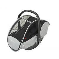 Дождевик-москитка на автолюльку kiddy rain-mosquitocover 41621RC00 Black