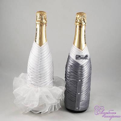 Украшение на шампанского №19