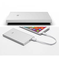 Универсальная батарея Xiaomi Power Bank 10400mAh (NDY-02-AM) Silv (Реплика)