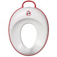 Сиденье для унитаза Baby Bjorn 058024 белый - окантовка красный
