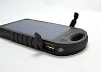 Power Bank Solar 45000 mAh Синий повер банк + Фонарь аккумулятор (NA318)