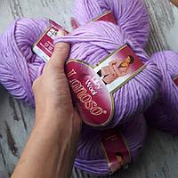 Filzy wool шерсть мериноса цвет сиреневый