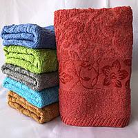 БАННОЕ махровое полотенце . Махровые полотенца оптом 36-1