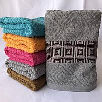 БАННОЕ полотенце махровое. Махровые полотенца оптом 37-1
