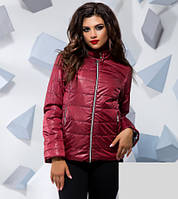 Демисезонная куртка на синтепоне 3 цвета 16016, фото 1